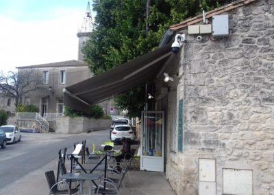 Terrasse - La Forge Gourmande à Beaulieu, restaurant, pizzeria, traiteur, service traiteur, traiteur pour particulier, traiteur pour professionnel, événement, animation