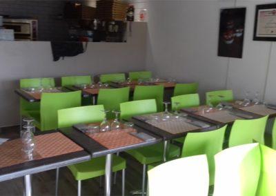 Salle à manger - La Forge Gourmande à Beaulieu, restaurant, pizzeria, traiteur, service traiteur, traiteur pour particulier, traiteur pour professionnel, événement, animation