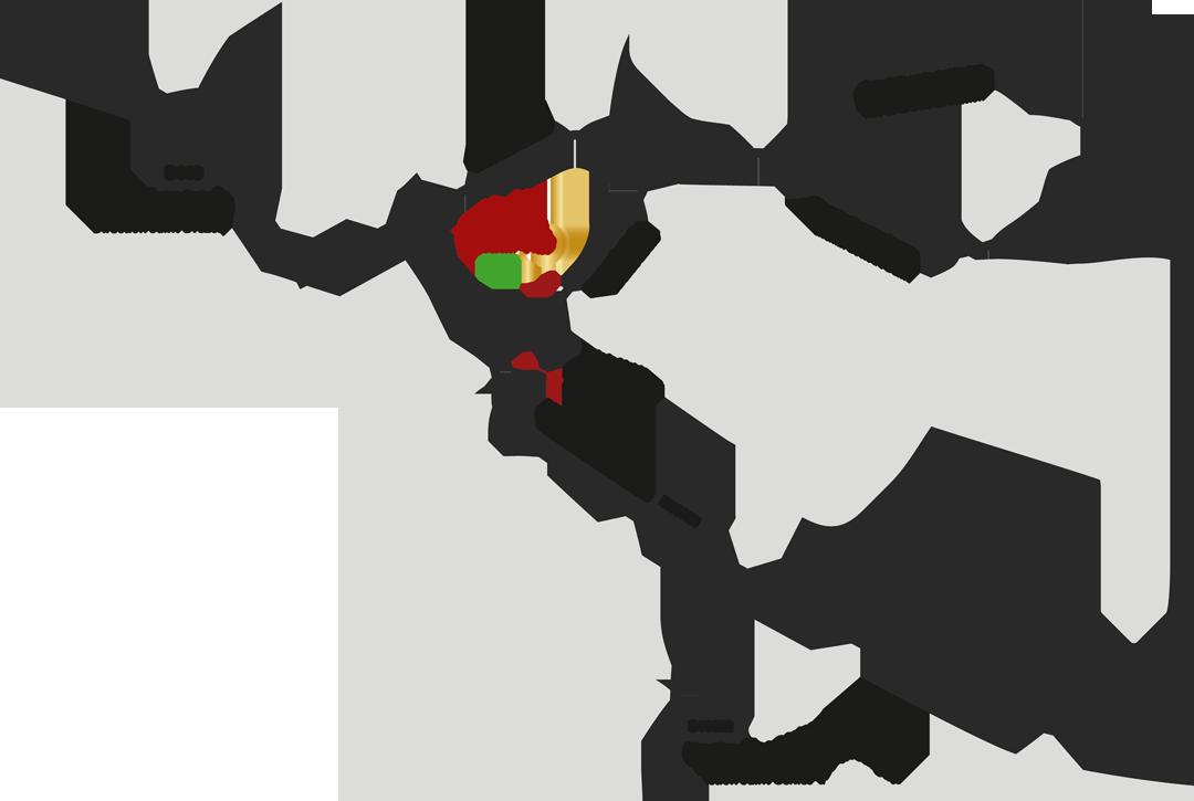 Map et plan d'accès - La Forge Gourmande à Beaulieu, restaurant, pizzeria, traiteur, service traiteur, traiteur pour particulier, traiteur pour professionnel, événement, animation