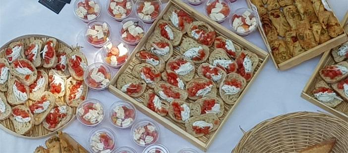 Assortiment traiteur été - La Forge Gourmande à Beaulieu, restaurant, pizzeria, traiteur, service traiteur, traiteur pour particulier, traiteur pour professionnel, événement, animation